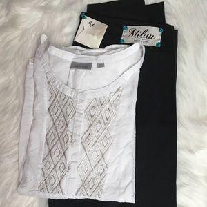 Lot of 2 blouse & pants size2X